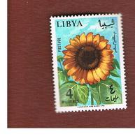 LIBIA (LIBYA) - SG 354  - 1965 SUNFLOWER    -   (MINT)** - Libia