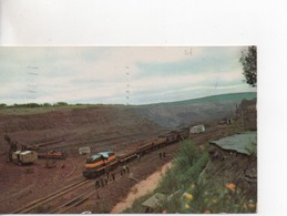 Cpa.Etats-Unis.1958.An Iron Mine.Northeen Minnesota. - Etats-Unis