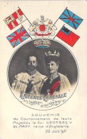 FAMILLES ROYALES ( England - Angleterre ) Couronnement Roi GEORGES V Et Reine MARY - CPA - England Great Britain - Familles Royales
