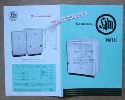 "Brochure ""Wasmachine ""Sam"" Mechelen - Collections"