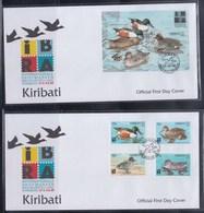 Kiribati 1999 IBRA, Birds FDC - Birds