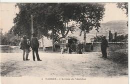 12/ Vabres - La 'Arrivée De L'Autobus  - Edition Audouard N° 4 - Vabres
