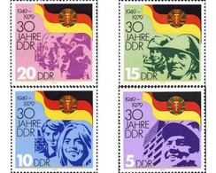 Ref. 150850 * MNH * - GERMAN DEMOCRATIC REPUBLIC. 1979. 30th ANNIVERSARY OF GERMAN DEMOCRATIC REPUBLIC . 30 ANIVERSARIO  - Unused Stamps