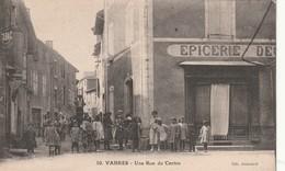 12/ Vabres - Une Rue Du Centre    - Edition Audouard 10 Epicerie Belle Animation - Vabres