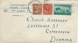 Cover Sent To Denmark. 1947.  H-1194 - Brieven En Documenten