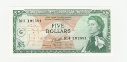 Grenada 5 Dollars UNZ - East Carribeans