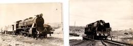 Foto  Photo - Trein Train Locomotief Locomotive - Samper De Calanda & Cabeza Gorda Pacific 2-3-1 - 1930 - Trenes