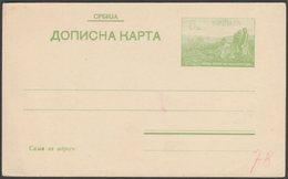 Србија Дописна Карта 5 Пара - Serbia Green 5 Para Postal Stationery, 1915 - Serbia
