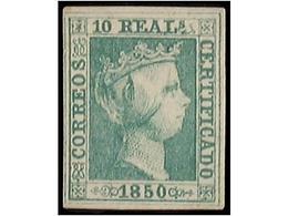 SPAIN: ISABEL II. 1850-65. IMPERF. ISSUES - Spain