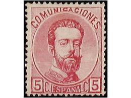 SPAIN: AMADEO 1872 - Spain