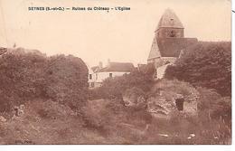 BEYNES - ( 78 ) - Ruines Du Chateau - Beynes