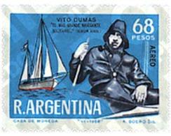 Ref. 26429 * MNH * - ARGENTINA. 1968. ONEMAN NAVIGATION . NAVEGACION EN SOLITARIO - Ships