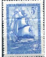"""Ref. 283154 * MNH * - ARGENTINA. 1947. CINCUENTENARIO EL BUQUE-ESCUELA """"PRESIDENTE SARMINETO"""" - Ships"""