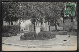 CPA 61 - Flers, Le Square Delaunay - Flers