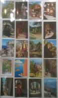 Lot De 20 Cartes Postales CORSE / Personnages & ânes & Pêcheurs /b - France