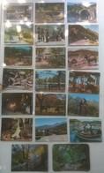 Lot De 20 Cartes Postales CORSE / Personnages & ânes & Pêcheurs /c - France