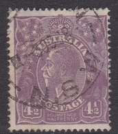 Australia SG 81 1924 King George V,Four And Half Violet,Single Watermark, Used - 1913-36 George V: Heads