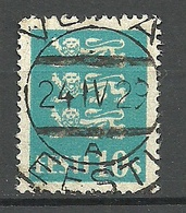 Estland Estonia 1929 O VOKA - Estonia
