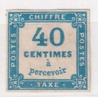 FRANCE TAXE YT N° 7*  2 ème CHOIX   1 CLAIR - 1859-1955 Nuevos