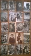 Lot De 20 Cartes Postales Anciennes CORSE / Personnages & ânes & Pêcheurs - Non Classés