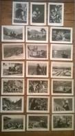 Lot De 21 Cartes Postales Anciennes CORSE / Personnages & ânes & Pêcheurs / édition Miramont - Non Classés