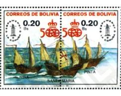 Ref. 292438 * MNH * - BOLIVIA. 1987. 500 ANIVERSARIO DEL  DESCUBRIMIENTO DE AMERICA - Ships