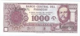 Paraguay 1.000 Guaranies 2002, 50 Anv. Banco Central Pick 221 UNC - Paraguay