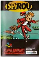 Cartouche Jeu Super Nintendo Spirou - Electronic Games