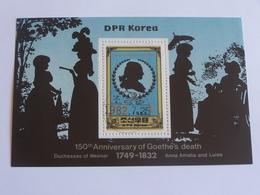 2 Timbres -  150th Anniversary Of Goethe's Deaph-   Dpk - Celebrità
