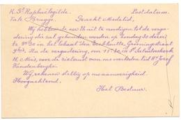 Briefkaart Carte Postale - Uitnodiging St Raphaelsgilde Brugge 1938 - Unclassified