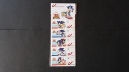 """Timbres Personnalisés - Bd :  5 Duos """"20 Ans Sonic"""" - Timbres Personnalisés"""