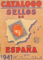 Bibliografía. 1941. CATALOGO SELLOS DE ESPAÑA 1941. Ricardo Lama. Barcelona, 1941. - Spain