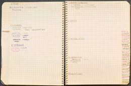Bibliografía. (1960ca). Preciosa Libreta De Los Años Sesenta (del Tamaño De Una Octava), Organizada Por Provincias Y Dib - Spain