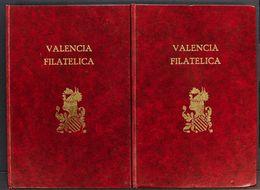 Bibliografía. (1961ca). Diversos Numeros Encuadernados De VALENCIA FILATELICA Y CORREO FILATELICO, De Los Años Sesenta.  - Spain