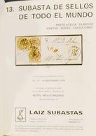 Bibliografía. (1969ca). Conjunto De Catálogos De Subastas LAIZ- DELTA, Desde 1969 A 1991, Encuadenados Lujosamente En Tr - Spain