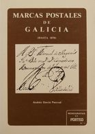 Bibliografía. (1971ca). Conjunto De Libros: ENSAYO POSTAL DE SEGORBE, MARCAS POSTALES DE GALICIA Y Dos Tomos De PREFILAT - Spain