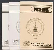 Bibliografía. (1985ca). Conjunto De Revistas POSEIDON, Todas Relacionadas Con El Tema Naval Y Su Relación Con La Filatel - Spain