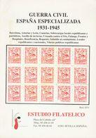 Bibliografía. (1988ca). Conjunto De Tres Catálogos Relacionados Con La Guerra Civil Española, Dos De Filatelia Llach: SO - Spain