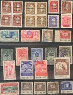 Marruecos. */º (1940ca). Conjunto De Sellos Benéficos De Marruecos En Nuevo Y Usado Tales Como Impuesto Del Timbre, Pro  - Spanish Morocco