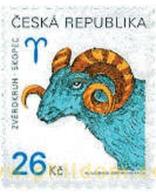 Ref. 117165 * MNH * - CZECH REPUBLIC. 2003.  ZODIAC SIGNS . SIGNOS DEL ZODIACO - Tsjechië