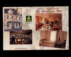 44 - BLAIN - Hotel Restaurant - La Gerbe De Blé - Blain