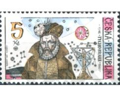Ref. 156961 * MNH * - CZECH REPUBLIC. 1996. 450 ANIVERSARIO DEL NACIMIENTO DEL ASTRONOMO TYCHO BRAHE - Tsjechië