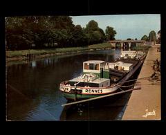 44 - BLAIN - Port - Péniche Zéphir De Rennes - Canal De Nantes à Brest - Blain