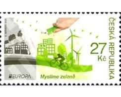 Ref. 359840 * MNH * - CZECH REPUBLIC. 2016. EUROPA CEPT 2016 - ECOLOGIA EN EUROPA - PIENSA EN VERDE - Tsjechië
