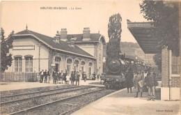 54 - MEURTHE ET MOSELLE / Neuves Maisons - 545164 - La Gare - Train - Beau Cliché - Neuves Maisons