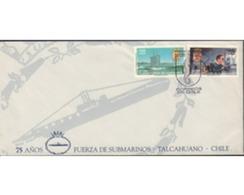 Ref. 505347 * MNH * - CHILE. 1992. 75 AÑOS DE LAS FUERZAS DE SUBMARINOS - Chile