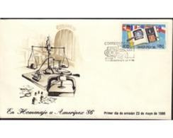Ref. 506215 * MNH * - CHILE. 1986. AMERIPEX-86 INTERNATIONAL PHILATELIC EXHIBITION  . AMERIPEX 86. EXPOSICION FILATELICA - Chile