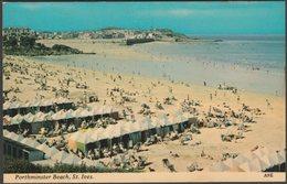 Porthminster Beach, St Ives, Cornwall, C.1960s - Harvey Barton Postcard - St.Ives