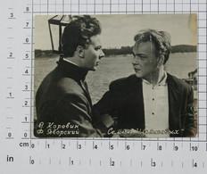 "VLADIMIR KOROVIN (II), FELIKS YAVORSKY (MOVIE""FAMILIE ULJANOW"" Семья Ульяновых 1957.)  - Vintage PHOTO Reprint (OST5-06) - Reproductions"