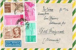 29103. Carta Aerea SAO PAULO (Brasil) 1960 A Germany - Brasil